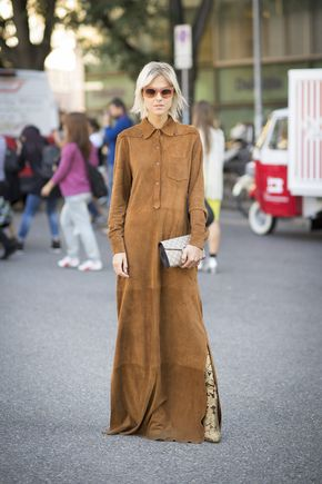 Street Style bei der Fashion Week in Mailand - Street Style bei der Fashion Week in Mailand