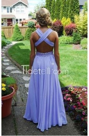 2016 prom dresses, long prom dresses, lavender prom dresses, party dresses by Tidetell.com