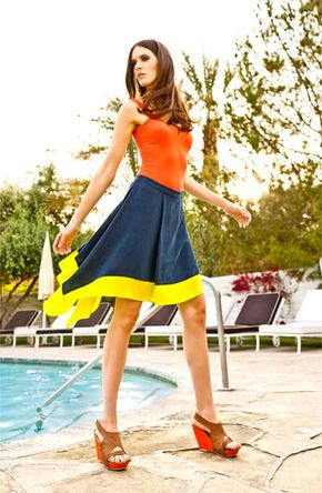 Hinge® Tank & Trouvé Skirt | #Nordstrom