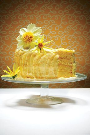 The Lemon Cheese Layer Cake - Spring Cakes in Bloom - The Lemon Cheese Layer Cake