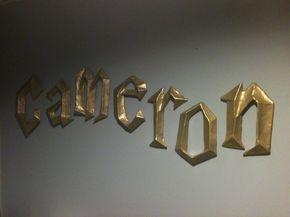 Harry Potter 3D Wall Letters - Harry Potter 3D Wall Letters. $15.00, via Etsy. Aaaaaaaaaaaaaaaaaaaaahhhhhhhhhhhhh love it sooooooo much