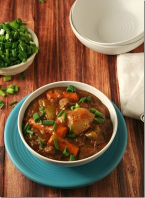 Low Carb Slow Cooker Beef Stew - Seriously best beef stew ever and it's low carb! - Low Carb Slow Cooker Beef Stew - Yours And Mine Are Ours