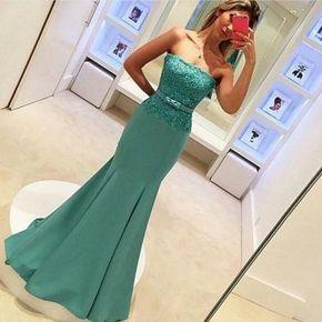 Mermaid Prom Dress,stylish White Me - @loriiann
