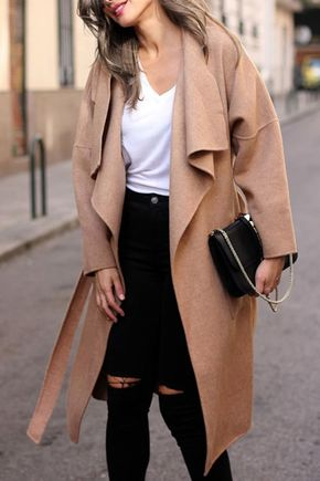 Faux Fur Hooded Collar Long Sleeves Thicken Denim Coat - Pinterest : @jaimeowen1234