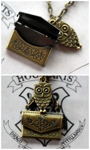 Harry Potter 'Owl Post' Necklace - Harry potter necklace!
