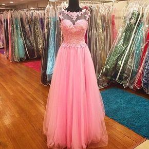 Sleeveless Prom Dress,Appliques Eve - Sleeveless Prom Dress,Appliques Evening Dress,Elegant Prom Dresses F1028