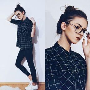 Emma Pavel - Pull & Bear Patterned Shirt - Chic Nerd