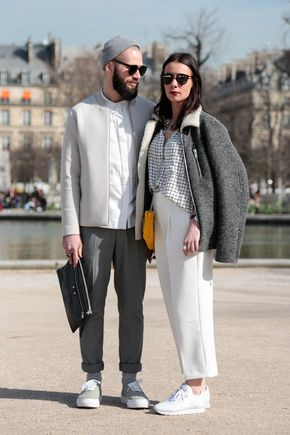 Paris Fashion Week March 2015 | Street styles by Team Peter Stigter | #wefashion
