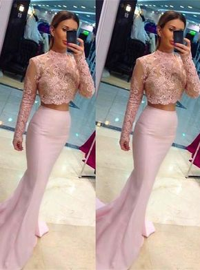 Modest Prom Dresses,Sexy New Prom D - Modest Prom Dresses,Sexy New Prom Dress,Gorgeous Cheap Two