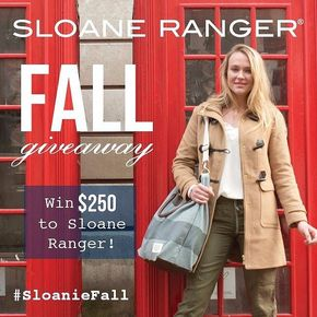 It's a Sloanie Giveaway! Win $250 to sloaneranger.com. Head over to our profile for link to enter! #SloanieFall #Preppy #InstaPrep #SloaneRanger