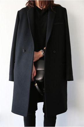 black outfit - total black