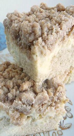 Cream Cheese Crumb Cake - Cream Cheese Crumb Cake | Baking Blond