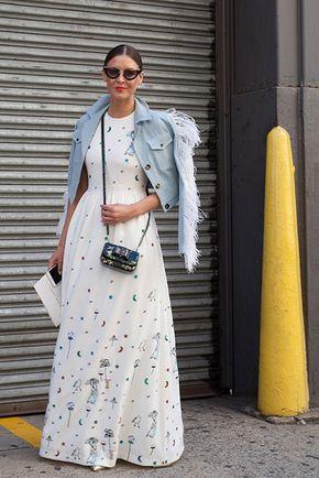 Street Style vestidos estampados primavera | Galería de fotos 24 de 36 | GLAMOUR