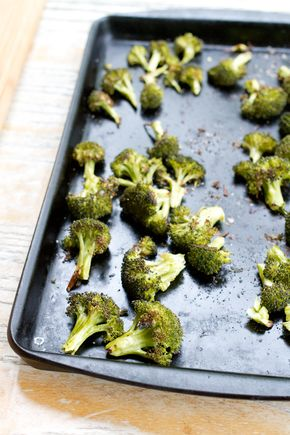 Easy and Healthy Roasted Broccoli (Eating Bird Food) - Easy and Healthy Roasted Broccoli