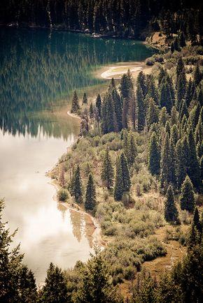 Grand Teton National Park, Wyoming. - Phelps Lake Beach | Flickr - Photo Sharing!