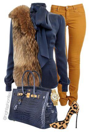Regal - Minus the fur, this is cute