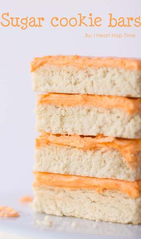 Amazing sugar cookie bars - Amazing sugar cookie bars ...less work and the same great taste!