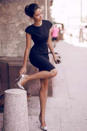 How to look polished and put together at all times - little black dress