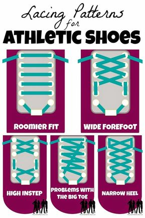 These 29 Diagrams Are All You Need To Get In Shape - For tying your sneakers just right.   29 Diagrams To Help You Get In Shape