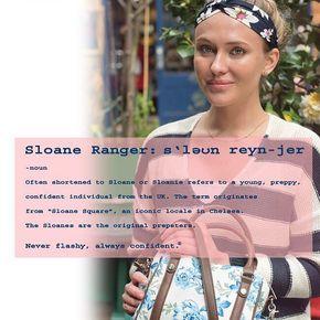 #sloaneranger