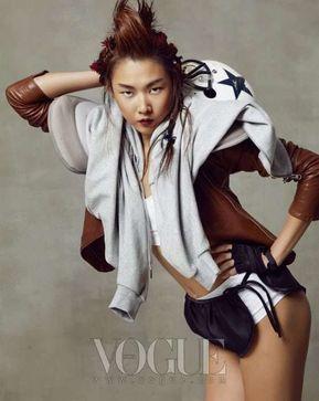 Fashionable Football Editorials - Fashionable Football Editorials : Vogue Korea April