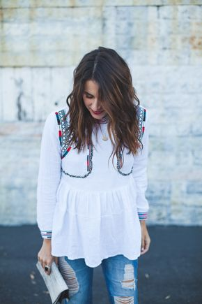 Chic of the Week: Natalie's Embroidered Ensemble - Chic of the Week: Natalie's Embroidered Ensemble