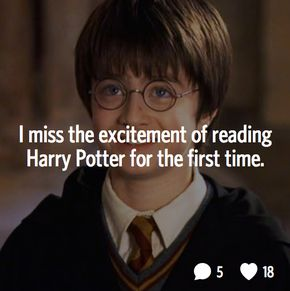 19 Real Thoughts Harry Potter Fans Actually Have - Harry Potter