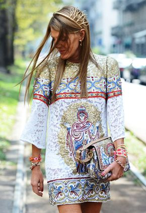Spring '14 Paris Fashion Week Street Style by Tommy Ton