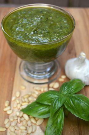 Easy Basil Pesto Recipe- Lip Smacking Good - Easy Basil Pesto Recipe