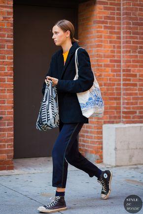 New York SS 2017 Street Style: Mali Koopman