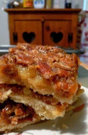 Pecan Pie Bars - Recipes, Dinner Ideas, Healthy Recipes & Food Guide