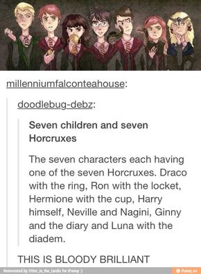(I read the last line like Ron after McGonagall transforms out of her Animagus form XD)