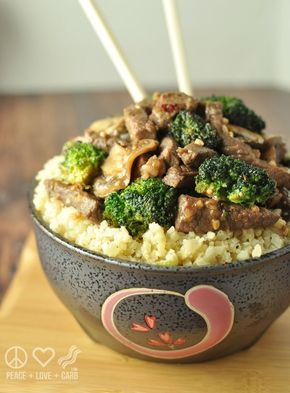 Beef and Broccoli Stir Fry - Low Carb, Gluten Free - Beef and Broccoli Stir Fry - Low Carb, Gluten Free | Peace Love and Low Carb