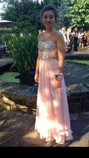Pink Prom Dresses,Pink Evening Gown - Pink Prom Dresses,Pink Evening Gowns,Simple Formal Dresses,Prom Dresses,Teens Fashion Evening Gown,Beadings…