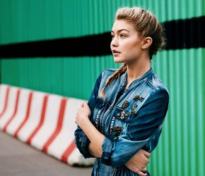 Exclusive! Gigi Hadid Is the New Face of Maybelline - Pinterest   @Givememycrown