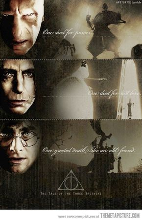 The Three Brothers - Love this.. Harry Potter