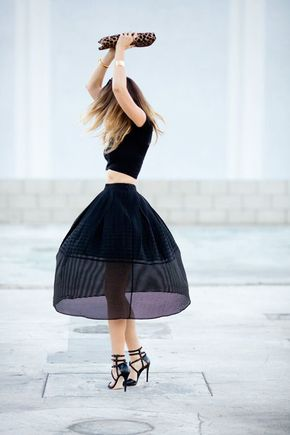 Tuesday Ten: June Style Tips - {All black.}