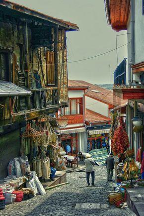 old castle street by Ömer Ünlü, via Flickr  old street near castle in Ankara