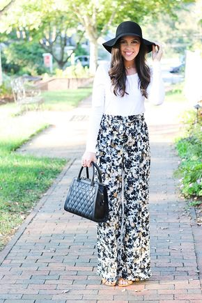 Chic of the Week: Shelby's Printed Pants - pinterest; fuxkmartxna