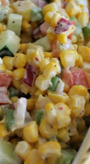 Fresh Vegetable Salad - Fresh Vegetable Salad