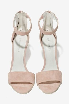Jeffrey Campbell Meryl Suede Heel - Shoes   Jeffrey Campbell   All   Shoes