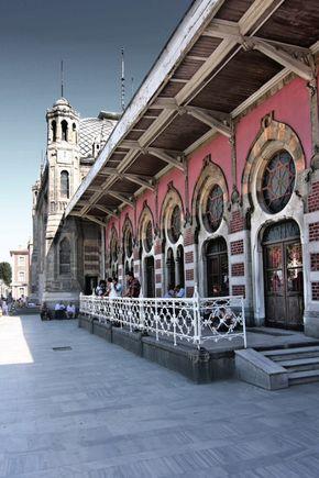 Sirkeci Train Station, Istanbul, Turkey