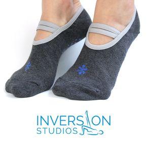 Yoga & Pilates Socks - Non Slip Grip - NEW Yoga & Pilates Nonslip Socks.  Keep your  feet cozy and warm during your practice! #Yoga #Pilates #Socks