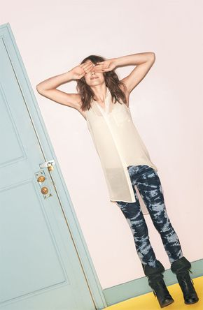 Lush Tunic & Articles of Society Jeans #Nordstrom #BPNordstrom