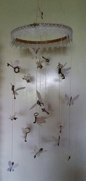 Harry Potter Flying Keys V2 Nursery Mobile - Harry Potter Flying Keys V2 Nursery Mobile
