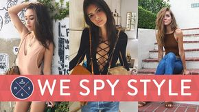 We Spy: Is This the Sexiest Summer Trend Ever?: This week on We Spy Style, fashion blogger Rachel Nguyen from That's Chic joins me and POPSUGAR Editor Ryan Roschke to chat about Paris Haute Couture Fashion Week.