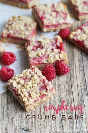 Raspberry Crumb Bars - Raspberry Crumb Bars 1 cup flour 1/4 teaspoon baking soda 1/4 teaspoon salt 1 cup old fashioned rolled oats 1/2 cup packed brown sugar 1/2 cup butter, softened 1 cup raspberry jam