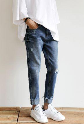 jeans entubados así