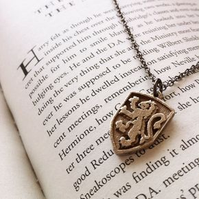 Gryffindor Crest  Pendant by FanaticAlley on Etsy, $19.00