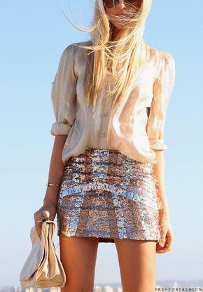 Cute sparkle skirt